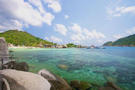 nang: nang yuan island of Thailand