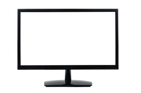 monitor de computadora: Monitor de la computadora aislados en blanco