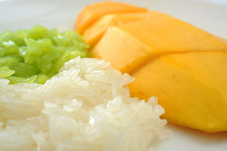 Sticky Rice with Mango photo