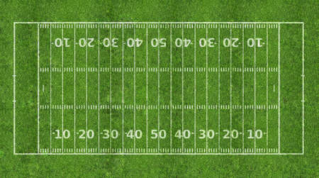 American football field photo