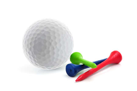 Golf ball and tees photo