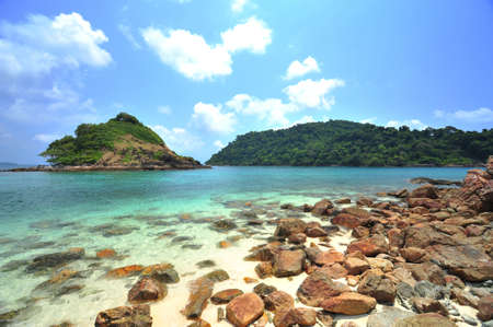 Scenic view near kho chang islands in thailand Stock Photo