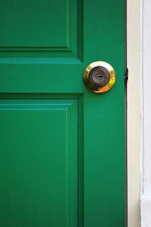 Door and Key Stock Photo - 19109787