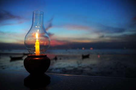 diner aux chandelles: D�ner aux chandelles sur la plage