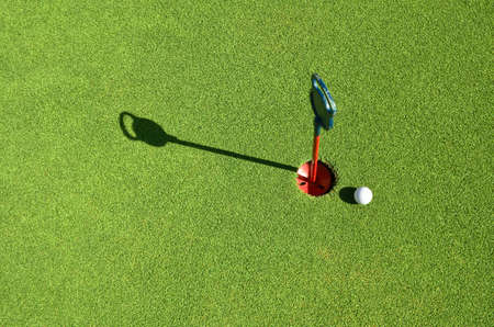 golf ball on the green Stock Photo - 20873283