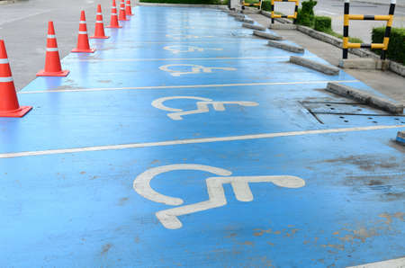 Disabled Parking Stock Photo - 21490155