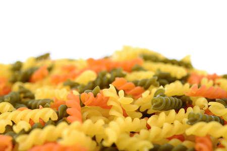 rotini: Rotini pasta Stock Photo