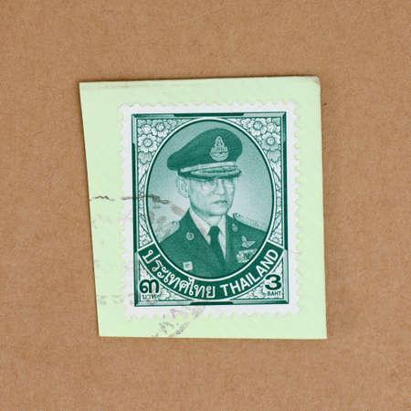 ix: Thailand King Rama IX Postage Stamp