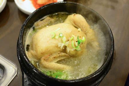 chicken soup: Chicken Soup, Korean Cuisine.