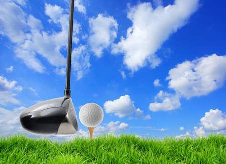 Golf ball: pelota de golf y t�