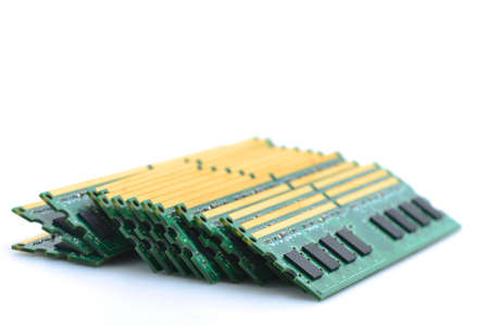 DDR Ram Isolated photo