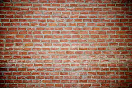 red wall: brick wall background