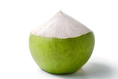 green' white: Coconut fruit