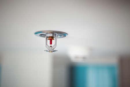 hogueras: Rociador y detector de humo Foto de archivo