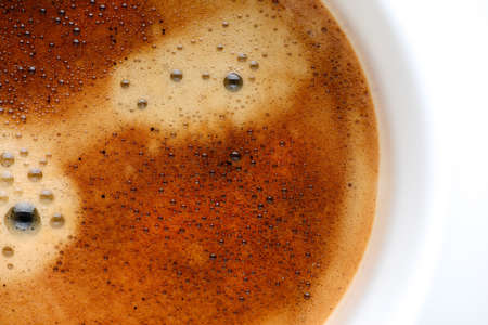 froth: coffee froth
