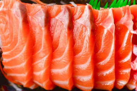 comida japonesa: comida japonesa salm�n pescado sushi