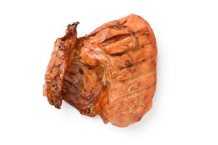 pollos asados: Muslo de pollo asado