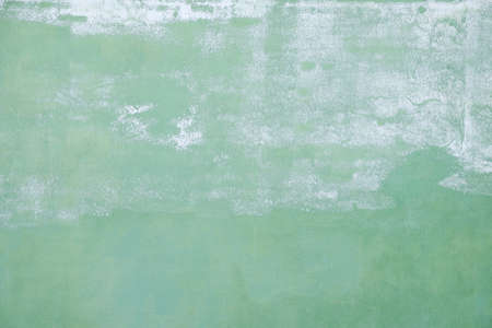 multilayered: painted green wall background Stock Photo