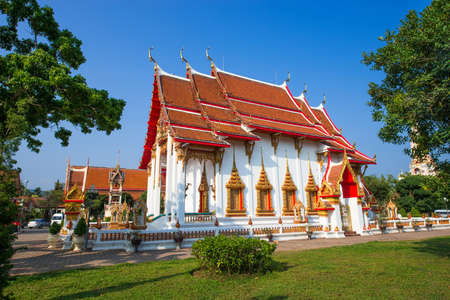 phuket province: Wat Chalong in Phuket Province, Thailand