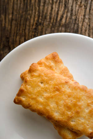 galletas integrales: crackers