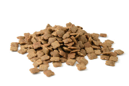 animals feeding: heap of pet food