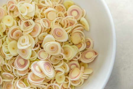 lemon grass: Silce lemon grass