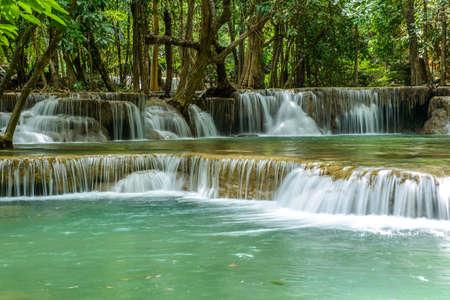 kanchanaburi: Waterfall in Kanchanaburi Province, Thailand