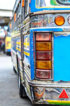 public transportation: Public Transportation in Thailand Countryside