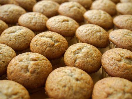 binge: banana muffin cake