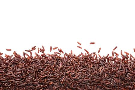 heap: red rice heap background