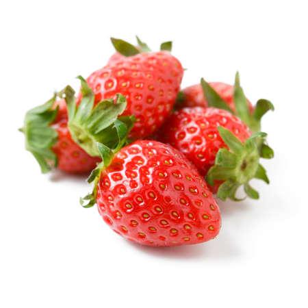 heap: heap of fresh strawberry Stock Photo