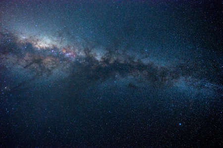 milky: milky way, long exposure photography