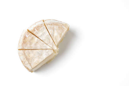 european culture: slice camembert cheese