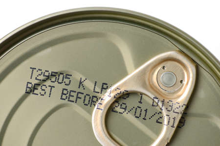 food can with expiry date Stock Photo - 61779655