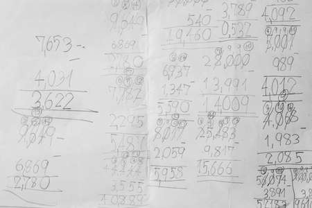 algebra calculator: maths notes with handwriting