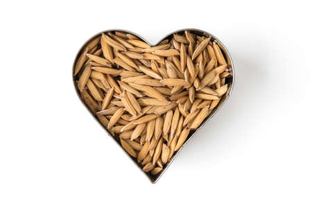 paddy in the heart Stock Photo