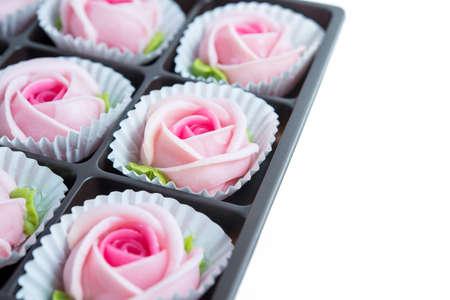 ALUA GULAB Rose Cookies, Thai Dessert