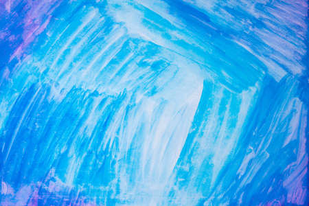 blue crayon scribble texture. abstract of crayon background.