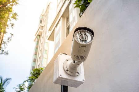 Security camera outdoor building