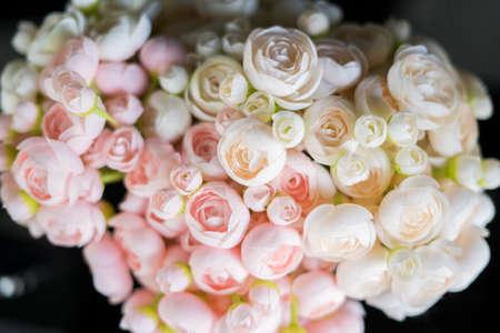 artificial of pink rose Stok Fotoğraf
