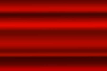 Abstract red gredient metal color theme satin texture background. Lighting effects of flash. Blurred vector background with light glare, EPS10 illustration.