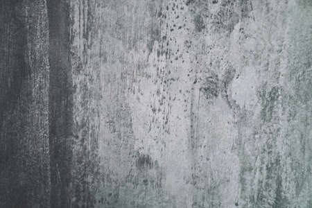 Blank grunge of old concrete wall white and grey color tone texture background Standard-Bild