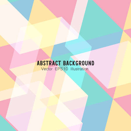 Abstract geometric or isometric polygon or low poly vector technology business concept background. EPS10 illustration style design.