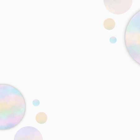 Abstract pastel color tone with random shapes on white background. EPS10 vector illustration graphic design. 矢量图像