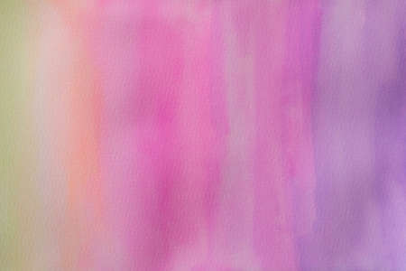 Abstract watercolor random color on paper texture wallpaper background.