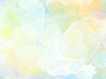 Abstract alcohol ink texture marble style background. EPS10 vector illustration design. Illustration
