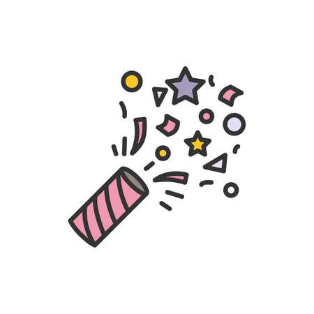 Confetti color icon