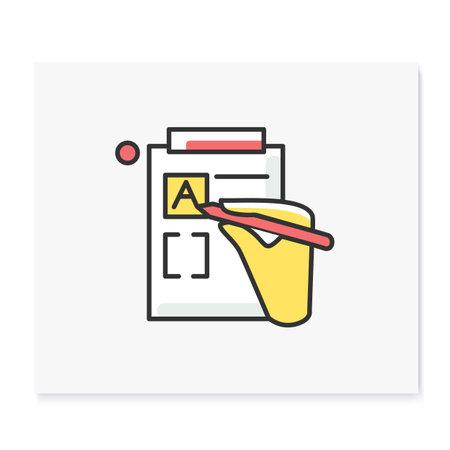 Version control color icon