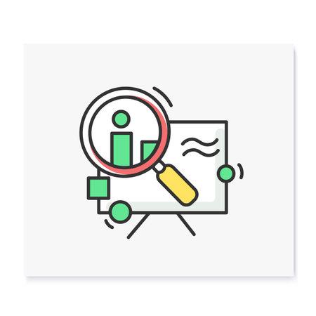 Research color icon