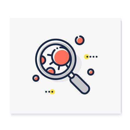 Pathogen color icon